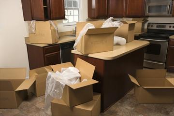 備品の搬入